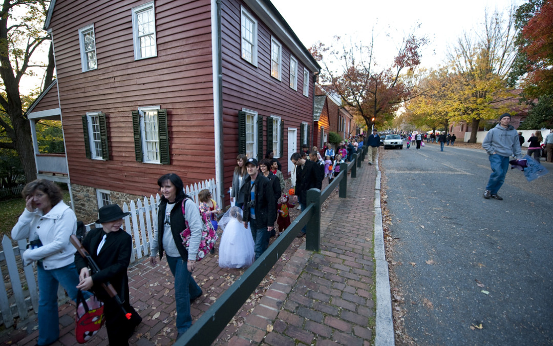 Trick or Treat in Old Salem